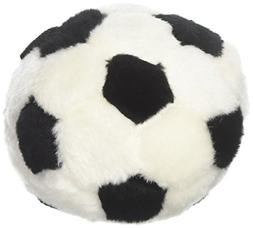 """Boss Pet 0880917 Digger's 5"""" Plush Soccer Ball Dog Toy with"""