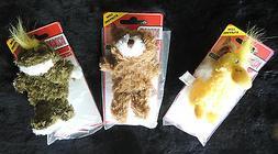 "~4"" Kong Extra Small Dog Squeak Toy Soft Plush Fun Teddy Be"