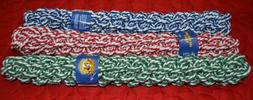 "1 or 3 Pack NEW 16"" Dog Braided Rope Chew Pull Toy - Amazing"