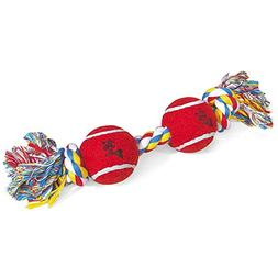 13 Rope Toys with Tennis Balls - Style: 13 Bone-2 Balls
