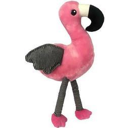 """Petlou 14"""" Flamingo Dog Toy"""