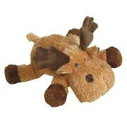 "14"" Moose Plush Squeaks Grunts Dog Toy by Petlou"