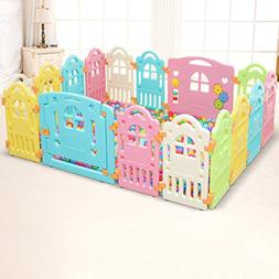 Playpens 14 Panel Baby Large Kids Activity Center Room Secur