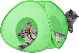 Our Pets 1550013409 Electronic Spin Toy Teaser Teepee