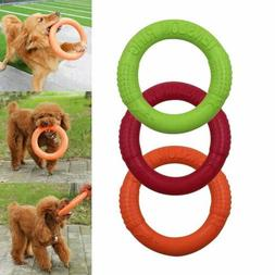 1PC Dog Training Ring Pet Flying Discs Dog Chew Toy Interact