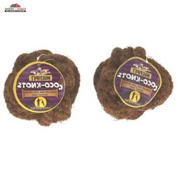 2 Coco Knot Multipet Dog Puppy Toy Rope Ball Chew