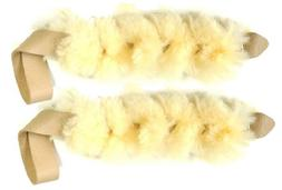 Bundle of 2 of our Real Sheep Skin Dog / Puppy Tug Toy Large