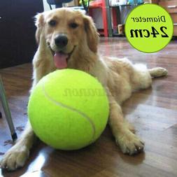24cm Big Giant Pet Dog Puppy Tennis Ball Thrower Chucker Lau