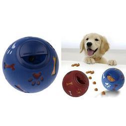 2xS Dog Food Ball Pet Play Feeder Chew Toy Puppy Training Ac