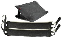 "RedLine K9 3 Handle French Linen Bite Wedge Tug Toy & 2-4"" X"