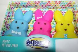 3 pack bunny toys dog pets vinyl