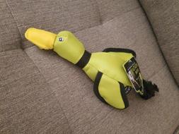 Hyper Pet 47909 Green Mini Flying Duck Dog Toy