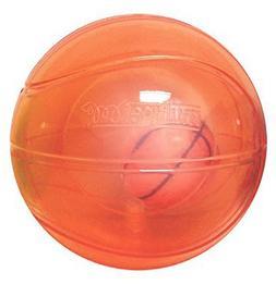 "Multipet 51137 5"" Doglucent TPR Light Up Ball with Inner Bas"
