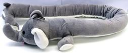 "Multipet 53288 Elephant Loofa 36"" Long Body Animal"