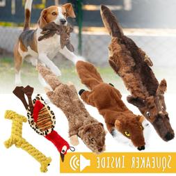 5Pc Dog Squeaky Toys Durable Plush Toy for Puppy Large Small