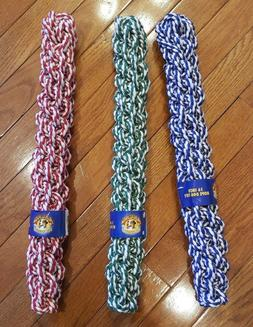 "6-Pack! NEW Amazing Pet Products 16"" Retriever Rope Dog Chew"