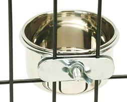 Bonka Bird Toys 800120 Stainless Steel 5 oz Cage Coop Clamp