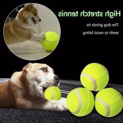"9.5"" Big Giant Pet Dog Puppy Tennis Ball Thrower Chucker Lau"