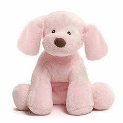 "Baby GUND Spunky Dog Stuffed Animal Sound Plush, Pink, 8"""