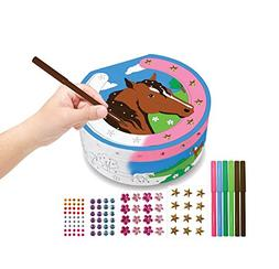 Breyer Horse Crazy Color and Decorate Treasure Box Craft Act