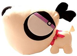 Creative Cute Gifts White Knife Dog Plush Toy 40CM