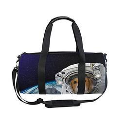 Dog Galaxy Planet Universe Space Stars Sports Shoulder Handy