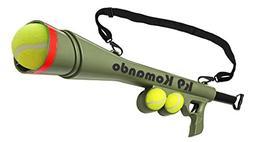Dog Komando K-9 Tennis Ball Launcher Gun includes 2 Squeaky