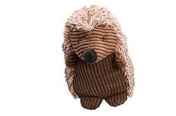 "Ethical Pets 8"" Assorted Corduroy Hedgehogs Plush Dog Toy"