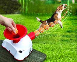 Etna Gotcha Talking Dog Fetch Toy, An Automatic Ball Thrower