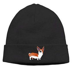 Funny Corgi Pet Dog Warm Knitted Hat Skull Beanie Cap for Me