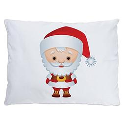 Indoor Luxury Plush Dog Bed Christmas Cuties Santa Claus