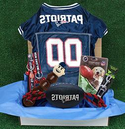bf0188f03 NFL New England Patriots PET Gift Box with 2 Licensed Dog To
