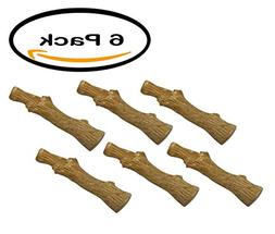 PACK OF 6 - Petstages Dogwood Stick, Small