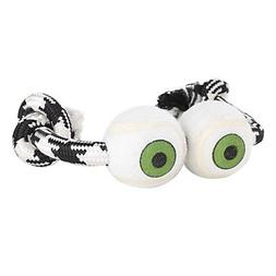 QINF Two Eye Style Dogs Toy with Rope