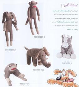 "Sock Pals Monkey, 10 "" Long"