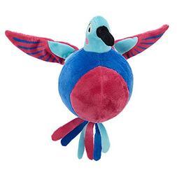 TOP PAW Holy Guacamole Bird Ball Plush Squeaker Dog Toy
