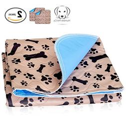 Washable Pee Pads for Dogs Whelping Reusable  Quilted Large