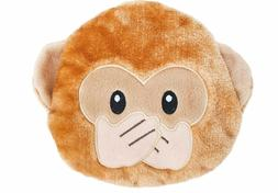 ZippyPaws - Squeakie Emojiz Stuffed Plushie Dog Toy - Speak