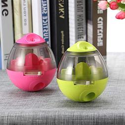 ABEDOE Dog Cat IQ Food Ball Toy Interactive Pet Toy Smarter