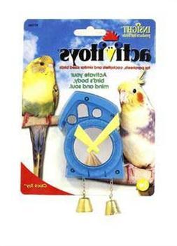 JW Pet Company Activitoys Clock Bird Toy