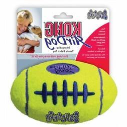 KONG Airdog Football Yellow Dog Squeaker Durable Pet Toy Med