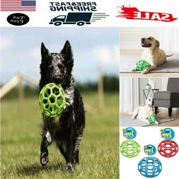 AMAZING Pet JW Holee Roller Ball Dog Toy Chew For Treat Fetc