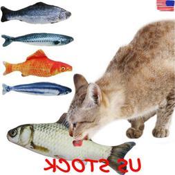 Artificial Fish Plush Pet Cat Puppy Dog Toys Sleeping Toy Ca