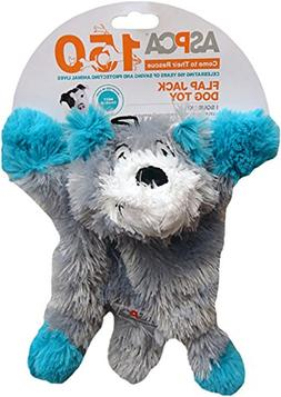 ASPCA Flap Jack Dog Toy Blue