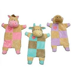 """Ethical Pets 13"""" Assorted Soothers Crinkle Pet Toys"""