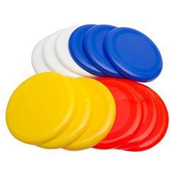 """Fun Central AU203 10"""" Frisbee Plastic Flying Disc Dog Frisbe"""