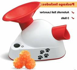 Automatic Ball Launcher Dog Fetch Toy Pet Tennis Ball Throwe