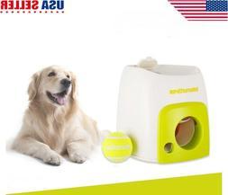 Automatic Pet Dog Tennis Ball Reward Machine Toy Interactive