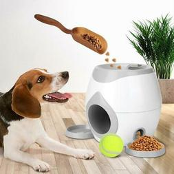 Automatic Pet Feeder Interactive Fetch Tennis Ball Launcher
