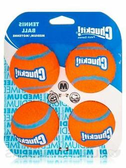 Chuck-It Ball Launcher Tennis Balls 4 / Pack Rubber